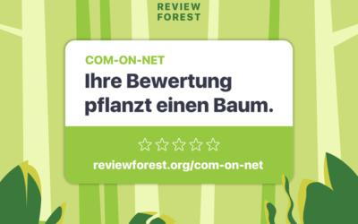 Ihre Bewertung pflanzt einen Baum